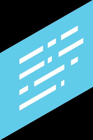 boîte de texte bleu