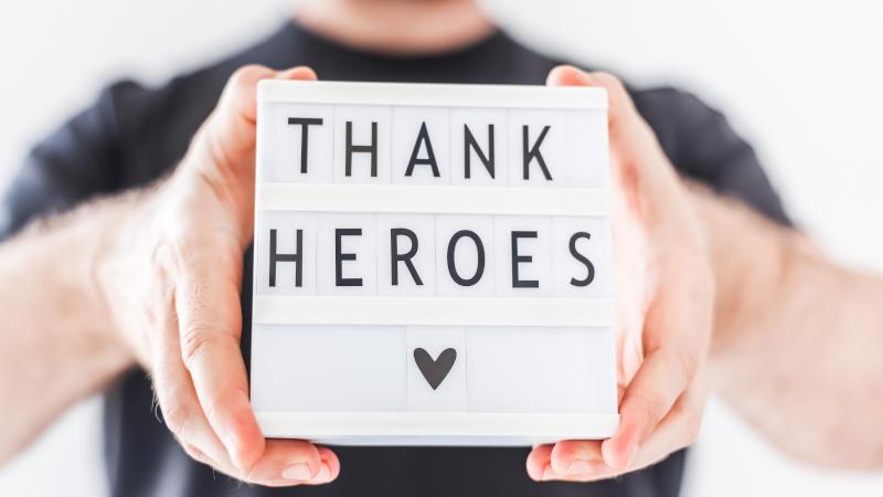 Remercier vos bénévoles et vos partenaires