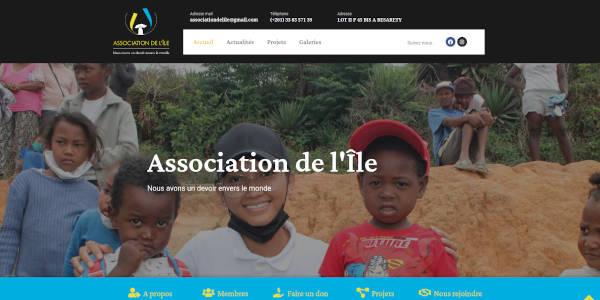 Site web de l'Association de l'ïle